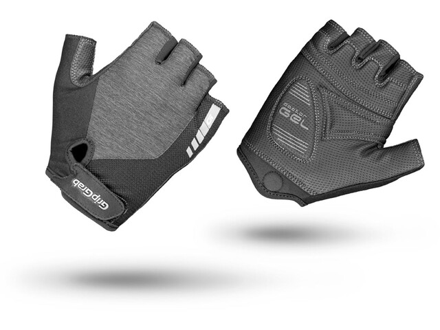 GripGrab ProGel Short Cycling Gloves Women Grey